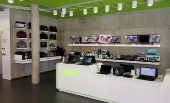 Prodejna a showroom HS Computers
